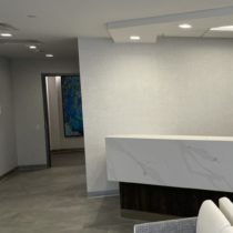 Image of waiting room 1133 Westchester Ave Office.