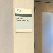 westchester office interior door