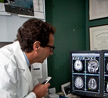 doctors reviewing a study