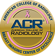 ACR breast imaging accreditation seal