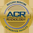 ACR nuclear medicine accreditation seal